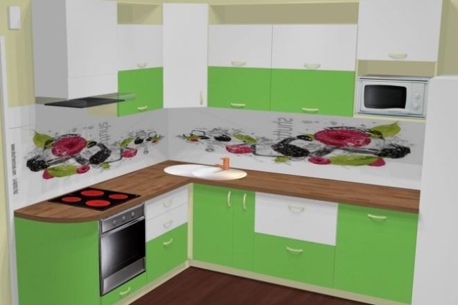 Создам 3-D проект мебели 1 - kwork.ru