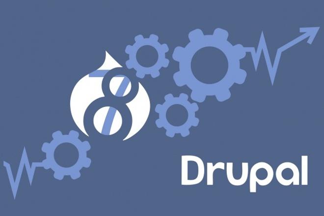 Drupal 7, 8, установлю и настрою 1 - kwork.ru
