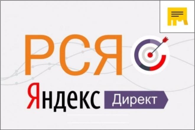 Создание и настройка кампании в Рекламной Сети Яндекс 1 - kwork.ru