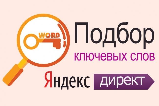 Соберу 1000 ключевых фраз для контекстной рекламы Яндекса и GoogleСемантическое ядро<br>Соберу под вашу тематику до 1000 ключевых фраз. Этапы работы по сбору ключевиков: - Сбор запросов, из Yandex. Wordstat, YMetrica, GAnalytics, YDirect, похожих поисковых запросов и подсказок из Яндекса, Google и Mail. ru, словаря синонимов и прочих поисковых сервисов и баз данных. - Очистка от мусорных фраз и удаление запросов, по которым менее 1 показа в месяц. Удаление похожих запросов. - Группировка запросов для обхода пправил Яндекса мало показов Результат работы: - Файл с ключевыми фразами для РК на поиске - Файл с ключевыми фразами для РСЯ - Файл стоп-слов. Вы можете использовать этот список для Google. Adwords и SEO. При необходимости могу дать консультацию по загрузке. Опыт работы с контекстом и SEO 6 лет. Всегда онлайн в рабочее время!<br>