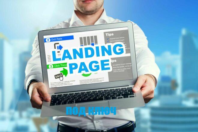 Landing Page под ключ 1 - kwork.ru