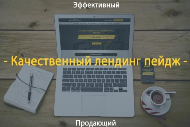 Сделаю копию лендинг пейдж 1 - kwork.ru