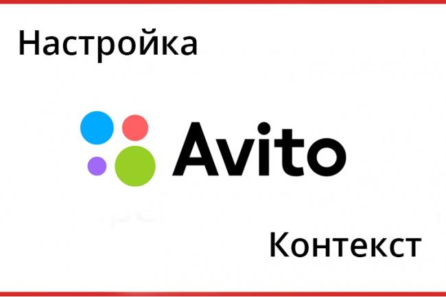 Настройка рекламы Avito Контекст 1 - kwork.ru