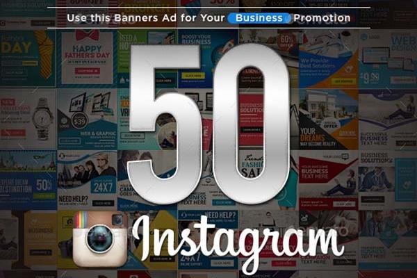 50 Ads шаблонов для Instagram для продвижения товаров и услуг 1 - kwork.ru