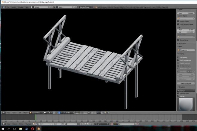 3D модель любой сложностиФлеш и 3D-графика<br>Сделаю 3D модель любой сложности, без развертки и текстуры. Быстро, максимум за сутки-двое. К созданию модели подхожу с умом, знаком с моделями под разные условия (для игры, для кино, для рига и т.д.).<br>