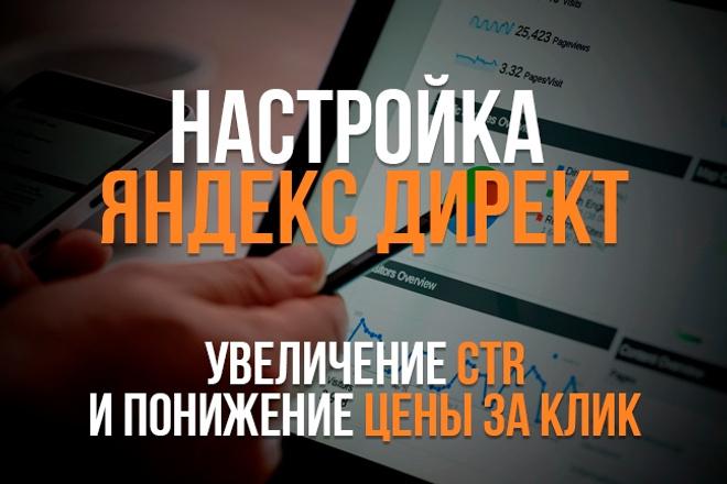 Настройка Яндекс Директ. Сертифицированный специалист 1 - kwork.ru