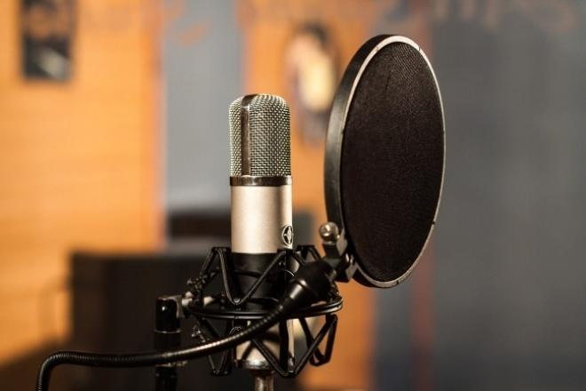 Озвучу рекламу или видеоАудиозапись и озвучка<br>Запишу озвучку для вашей рекламы или видео, а возможно и книги! С учетом ваших пожеланий по подаче и интонации. Длительное время работаю со звуком. Микрофон Samson C01Pro. Работал на телеканале в качестве продюсера, ведущего и диктора. Озвучивал сюжеты и рекламные ролики. Моя демозапись в приложенном файле.<br>