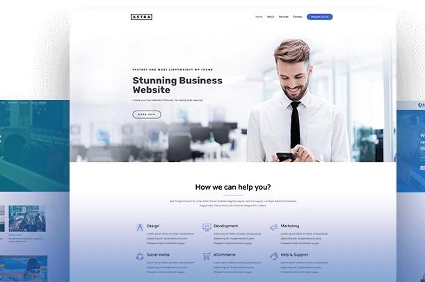 Создам сайт на WordPress. Готов сделать любой сайт 1 - kwork.ru
