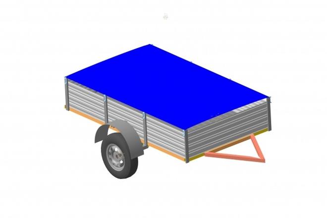 Создам 3D модельФлеш и 3D-графика<br>Выполню 3D модель, а так же последующие сборки при необходимости, за дополнительную плату. Выходной формат модели и сборки: stl, a3d, jpeg<br>