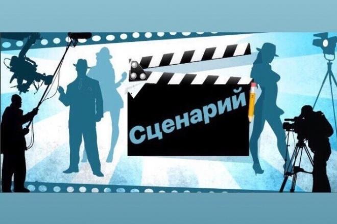 Оригинальный сценарий для видеоролика, рекламы 1 - kwork.ru