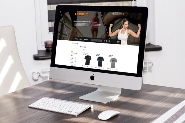 Веб-дизайн 1 - kwork.ru