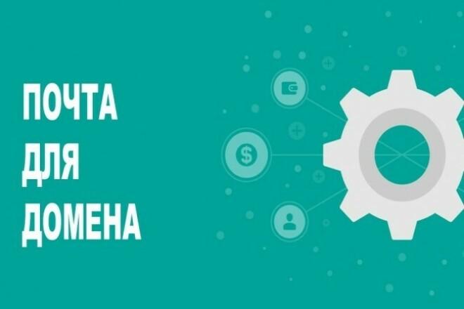 Установлю доменную почту 1 - kwork.ru