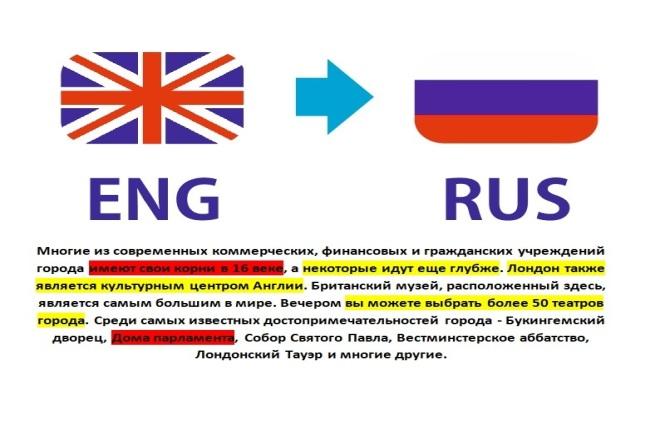 Проверю и отредактирую текст, переведённый с английского на русский 1 - kwork.ru