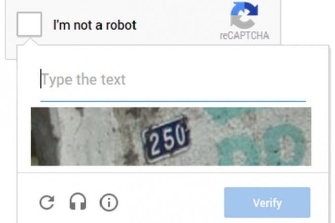 Подключаю reCAPTCHA или любую какую хотите Капчу 1 - kwork.ru