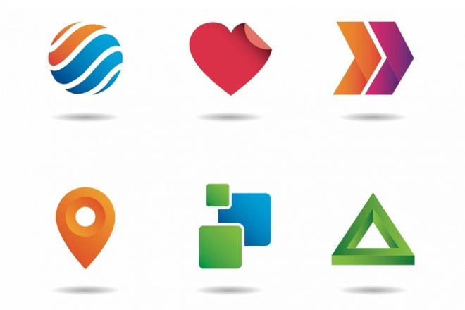 Сделаю логотип на любой вкус 1 - kwork.ru