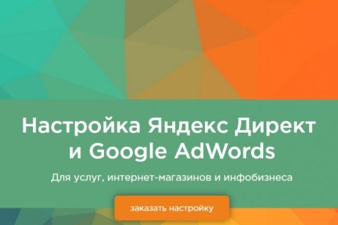 Яндекс Директ для натяжных потолков 1 - kwork.ru