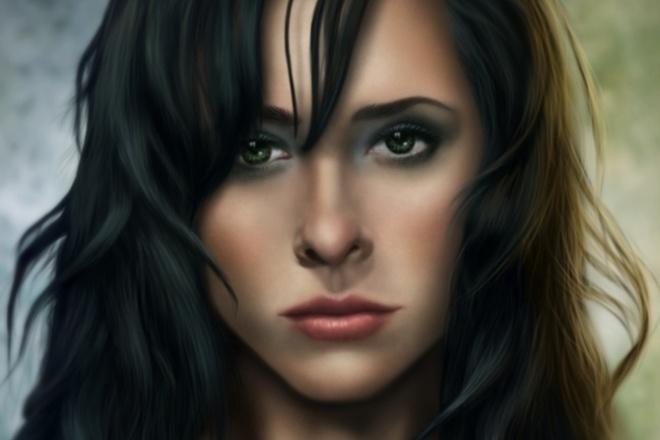 Цифровой портрет по фото 1 - kwork.ru