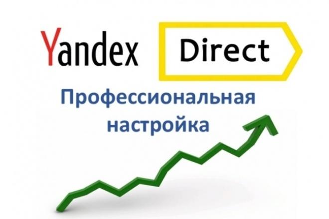 Настройка Яндекс. Директ. Поиск. РСЯ 1 - kwork.ru