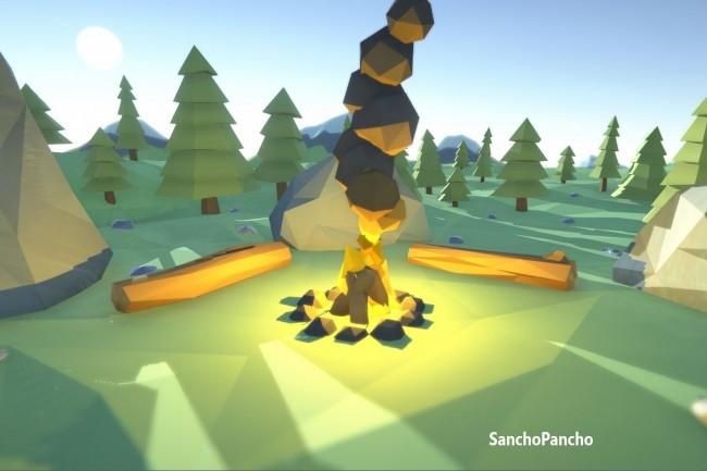 3D модель в Low Poly стиле 1 - kwork.ru