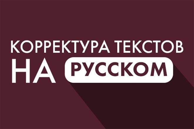 Откорректирую текст на русском языке 14 - kwork.ru