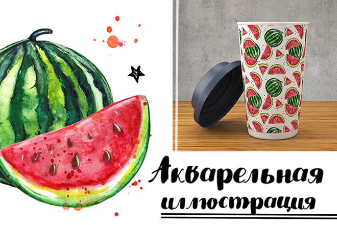 Акварельная иллюстрация 1 - kwork.ru