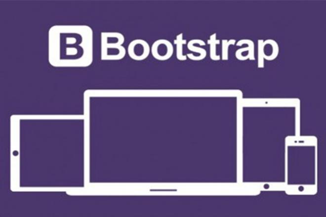 Верстка сайта с помощью фреймворка bootstrapВерстка и фронтэнд<br>Сверстаю на Bootstrap (html5, css3, js, jquery) по Вашему макету: - одну страницу сайта с простым дизайном. Одна страница с простым дизайном - это: шапка главное меню (не выпадающее) блок с основной информацией боковая колонка (одна) - не обязательно footer (подвал сайта) Для реализации дополнительных возможностей, таких как: верстка нескольких страниц или блоков (экранов), слайдеры, настройка плавной прокрутки страницы, установка якорей (для плавного перехода между секциями страницы), настройка и подключение формы обратной связи, выпадающие меню, дополнительная колонка и т.д., выберите, пожалуйста, дополнительные опции при заказе кворка. Всегда готов помочь и буду рад сотрудничеству! P.S. Bootstrap - самый популярный html, CSS и JS фреймворк для разработки адаптивных и мобильных web-проектов.<br>