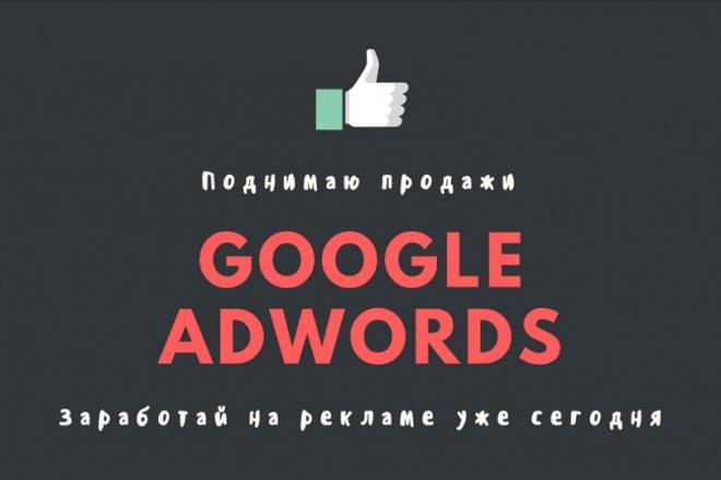 Продающая рекламная кампания Google Adwords 1 - kwork.ru