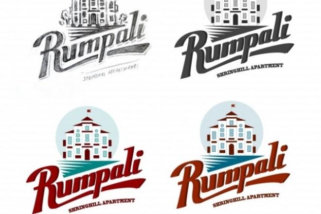 Логотип по эскизу в разных размерах 1 - kwork.ru