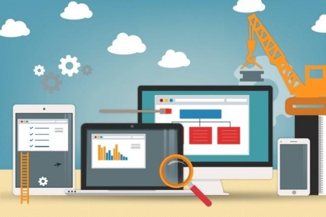 Разработка сайтов под ключ 1 - kwork.ru