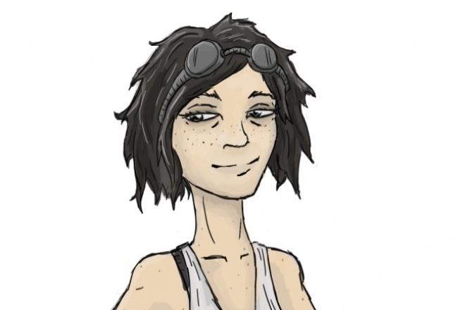 Нарисую персонажа, или вас 1 - kwork.ru