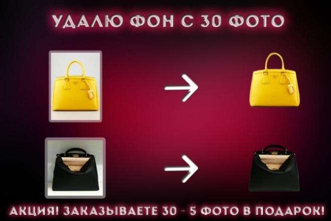 Удалю фон с 30 фото! (+5 фото в подарок) 1 - kwork.ru