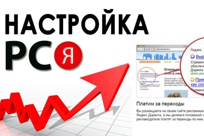 Рекламная кампания РСЯ Яндекс Директ на 100 ключей 1 - kwork.ru