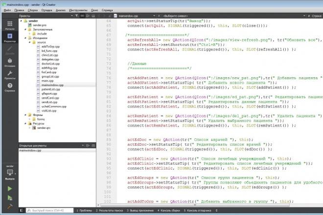 Напишу программу на С++ QT под Windows, LinuxПрограммы для ПК<br>Разработка программы на С/С++/QT для ПК Программа включающая в себя главное окно и формы/диалогов, вызываемых из меню. Возможны как многооконный (MDI), так и однооконные (SDI) приложения. Имею опыт создания интерфейсов к базам данных и работы с http:// запросами. Срок исполнения напрямую зависит от сложности задачи, для простых программ (главное окно + 5 форм с вводом данных) обычно укладывается в 1-2 дня.<br>
