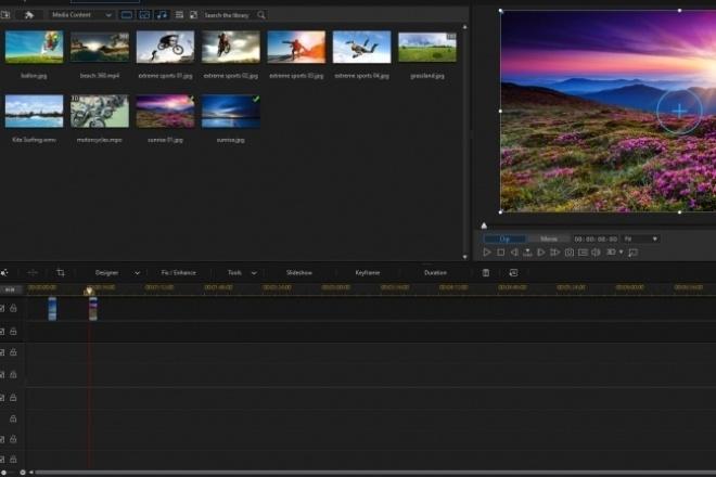 Создание видеороликовМонтаж и обработка видео<br>Создам видеоролик из ваших записей. Линейный видео монтаж с возможностью обработки видео потока (цветокоррекция, ускорение, замедление, реверс, прозрачность и много других возможностей). Наложение текста с эффектами - например картинка в тексте, эффектное появление текста, титры, заставка и прочее. Создание простых спецэффектов и переходов. Наложение и микширование фоновой музыки и звуковых эффектов.<br>