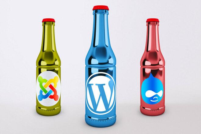Технические работы и доработки Joomla 2 -3, Drupal 6 - 8, Wordpress 1 - kwork.ru