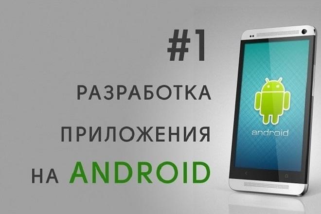 Разработка андроид приложения с нуля 41 - kwork.ru