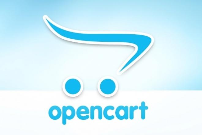 Интернет-магазин на OpenCart с автоматической загрузкой 1 - kwork.ru