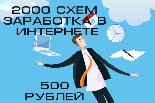 Продам 2000 идей, схем и курсов для заработка в интернете 1 - kwork.ru