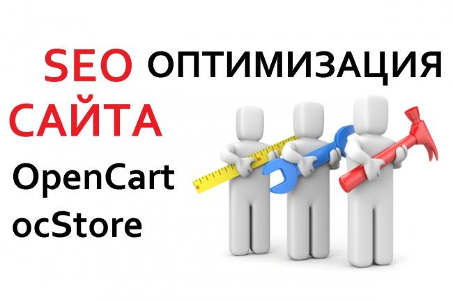 Уникальная SEO оптимизация вашего сайта OpenCart -ocStore 1 - kwork.ru