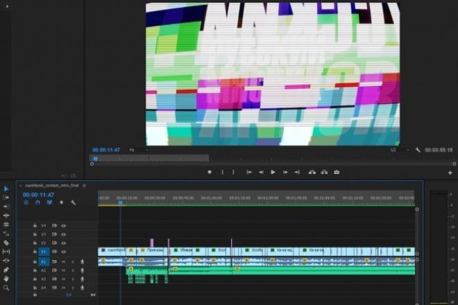Монтаж и обработка видео, а также цветокоррекция 1 - kwork.ru