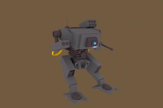 Сделаю 3d модель с ригом и анимацией 1 - kwork.ru