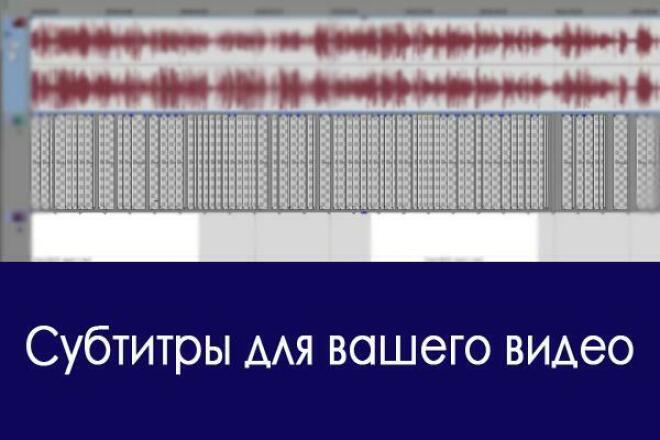 Напишу субтитры  для вашего видео 1 - kwork.ru