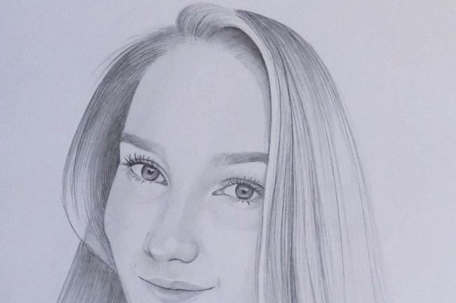 Рисую карандашом 1 - kwork.ru