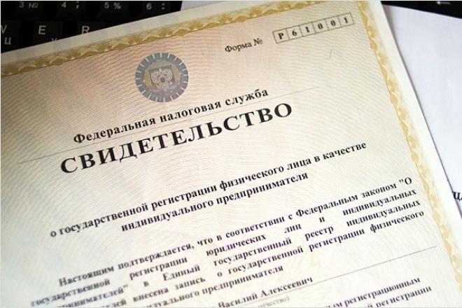 Проконсультирую по вопросам регистрации ИП и ООО 1 - kwork.ru
