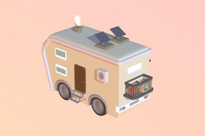 Сделаю модель транспортного средстваФлеш и 3D-графика<br>Добрый день, сделаю для вас модель транспортного средства по вашему чертежу (эскизу). Работа осуществляется в программе Blender, хочу обратить внимание, что на выходе вы получите высокополигональную модель.<br>