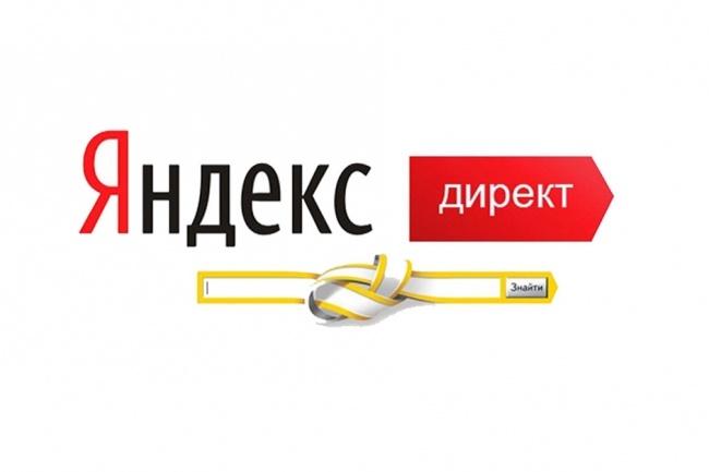 Настройка рекламной компании в Яндекс. Директ 1 - kwork.ru