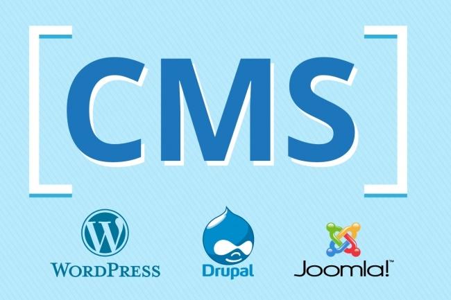 Установлю любую CMS на хостинг 1 - kwork.ru