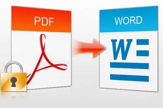 Конвертирую PDF формат Word и обратноРедактирование и корректура<br>Выполню конвертацию текста из PDF Выполню конвертацию текста из PDF в Word и обратно В стоимость входит перевод до 10 файлов различного формата или до 15 файлов одного формата<br>