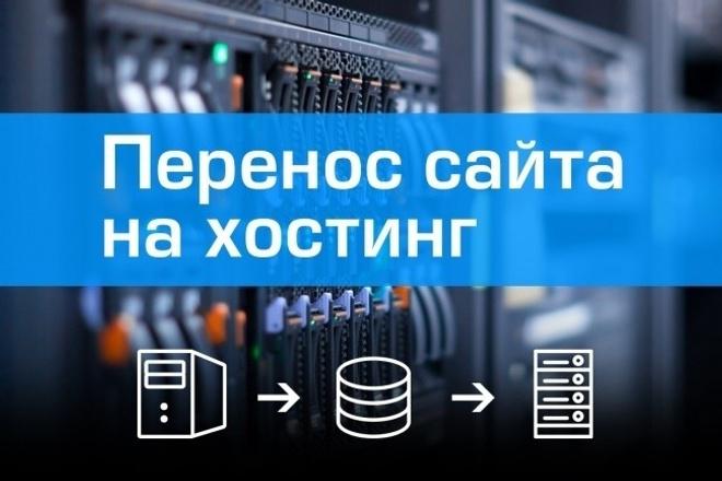 Установлю Ваш сайт на быстрый хостинг 1 - kwork.ru