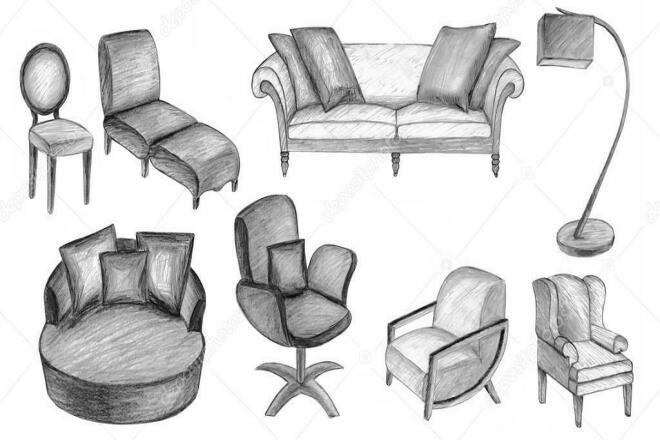 Описания мебели 1 - kwork.ru